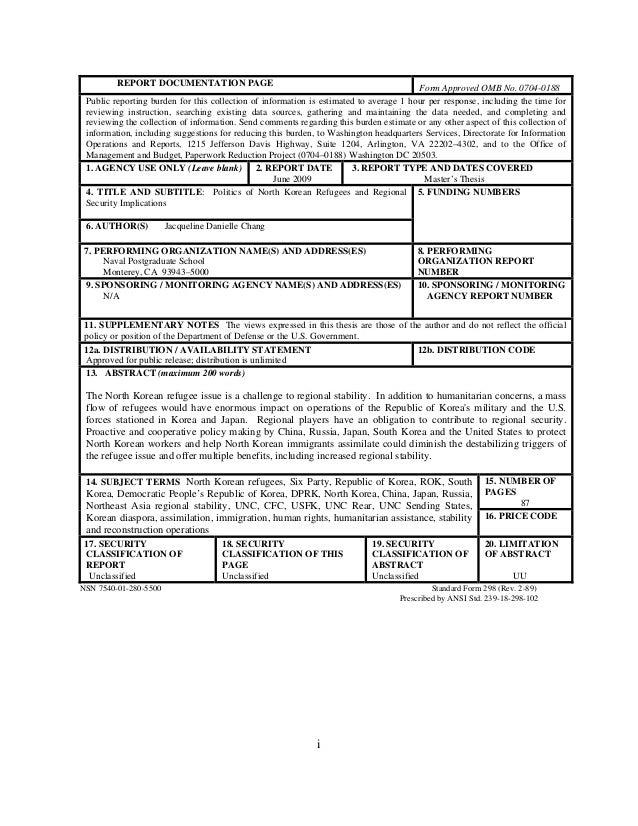 Naval postgraduate school monterey california thesis