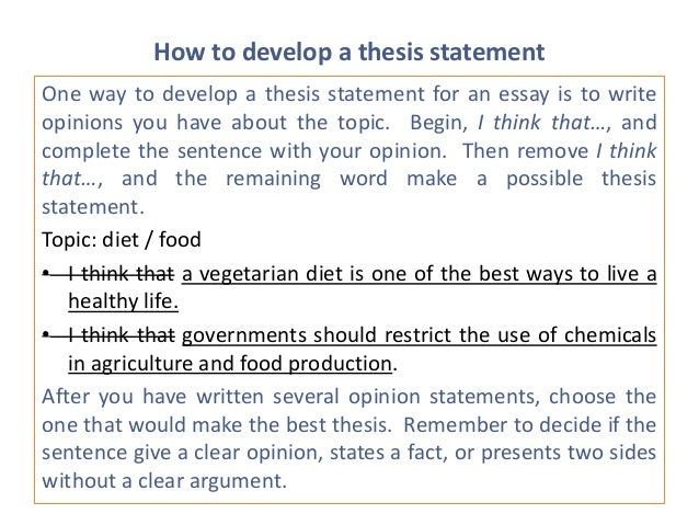 environment thesis statement Sharing thesis statements with students—both good and bad—can help them understand the characteristics they should strive for in their own work share the following thesis statements with your students on the chalkboard or overhead ask them to brainstorm environment and the book sold more than a million copies.