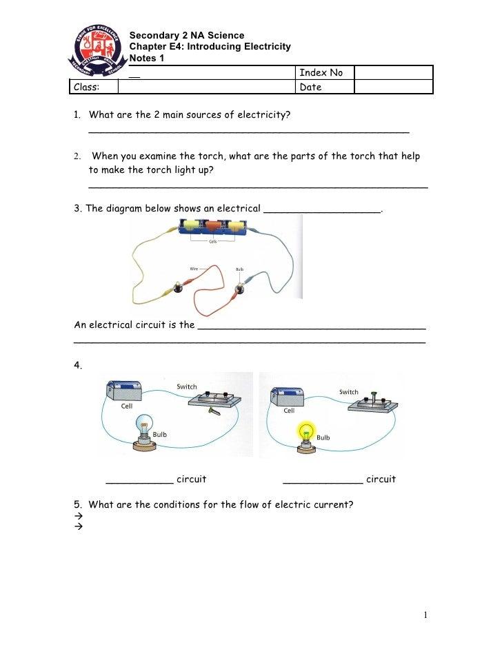 E4   Notes 1