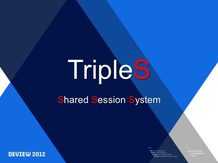 [E4]triple s deview
