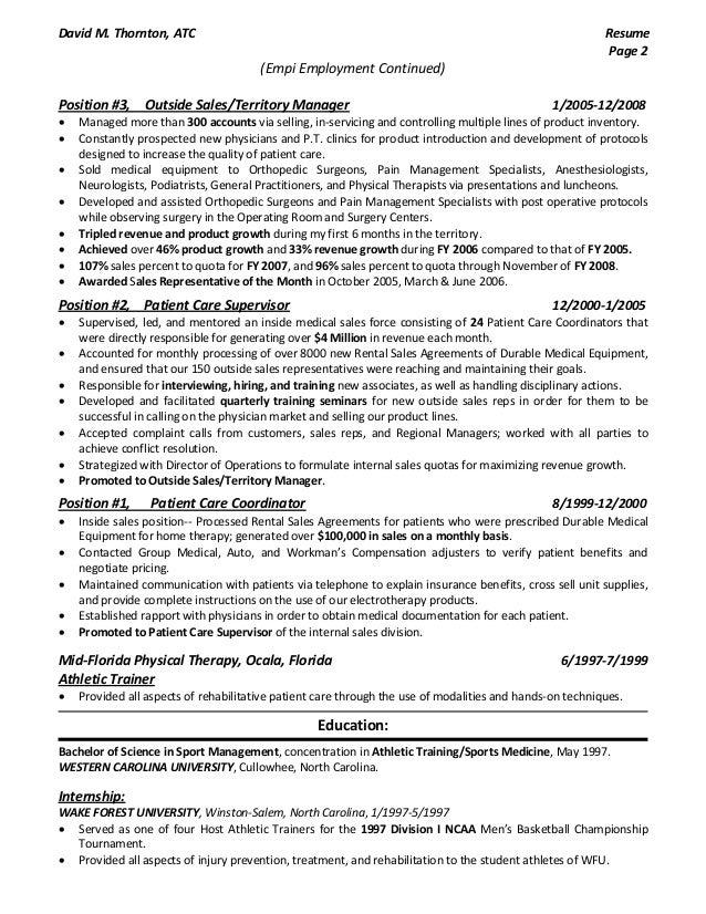 dthornton outside med sales resume 2015 pdf