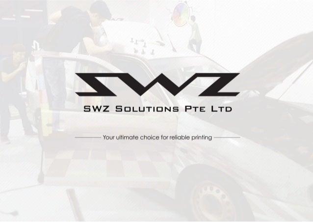 SWZ Solutions Pte Ltd