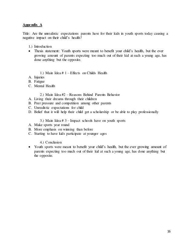 Qualitative research paper sample
