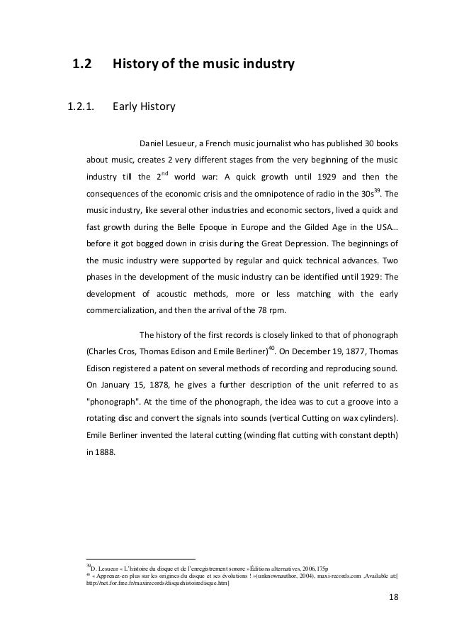 Master thesis in history
