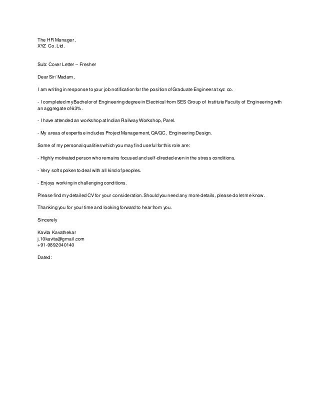 Cover Letter Addressed To Human Resources | Resume Cv Cover Letter