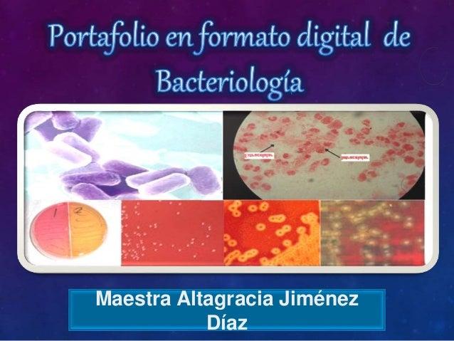 Maestra Altagracia Jiménez Díaz