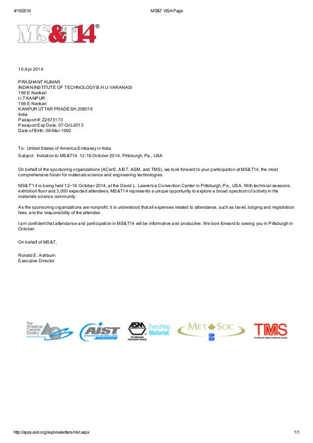 Sle invitation letter for business visa to usa 28 images sle invitation stopboris Images
