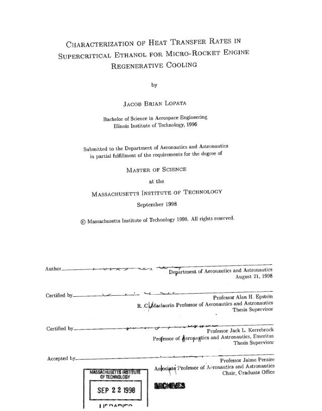 Mit Thesis