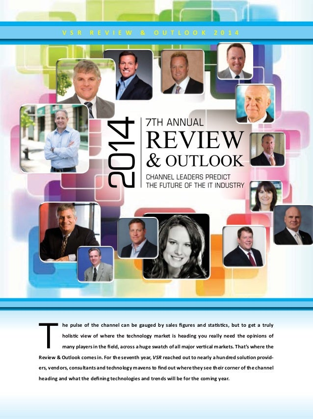 John Convery contribution 2014 7th Annual Review & Outlook - Channel Leaders Predict The Future of the IT Industry