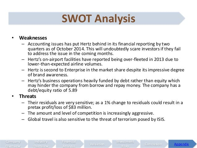 swot analysis car rental Europcar international company profile - swot analysis: europcar is the leading player in the western european car rental market in 2013, the company.