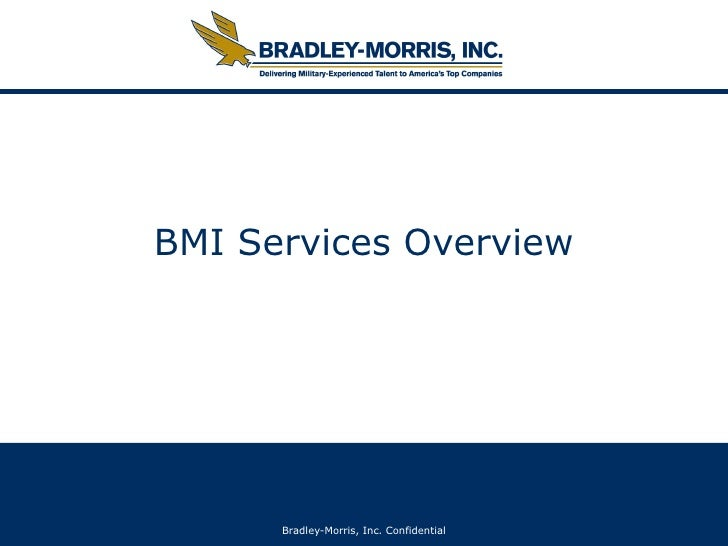 BMI Services Overview