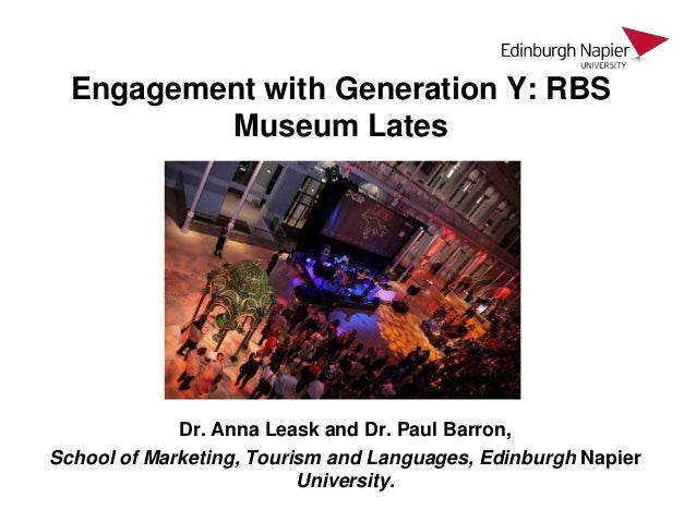 Engagement with Generation Y