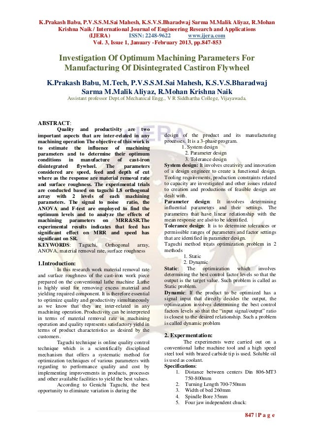 K.Prakash Babu, P.V.S.S.M.Sai Mahesh, K.S.V.S.Bharadwaj Sarma M.Malik Aliyaz, R.Mohan      Krishna Naik / International Jo...
