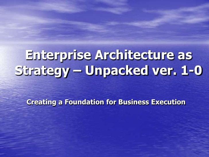 Ea As Strategy Ver1 0