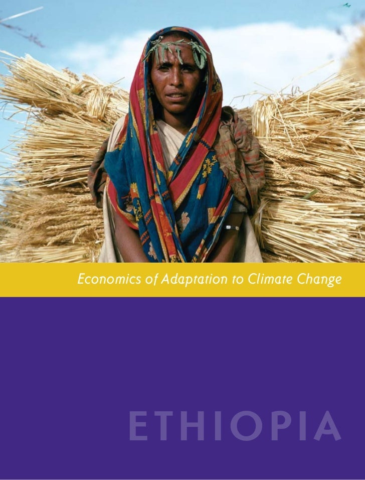 E T H I O P I A CO U N T RY ST U DY            i             Economics of Adaptation to Climate Change                    ...