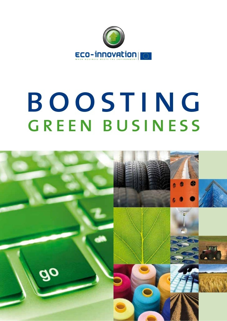 EcoInnovation - Boosting green business 2011