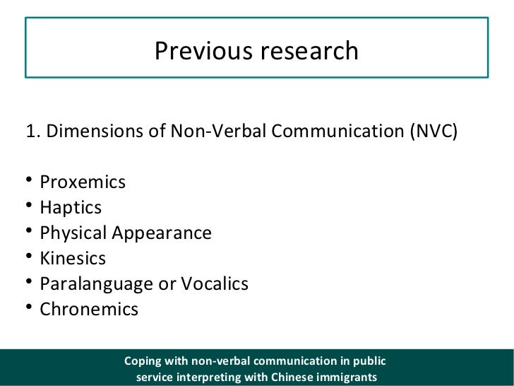 nonverbal communication public transportation You should keep in mind that nonverbal communication and verbal  susan  was uncomfortable when a stranger sat very close to her on the bus, but when an .