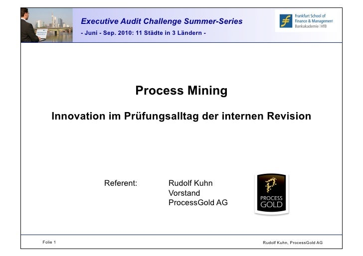 Executive Audit Challenge Summer Series 2010