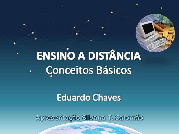 EAD - Conceitos Básicos