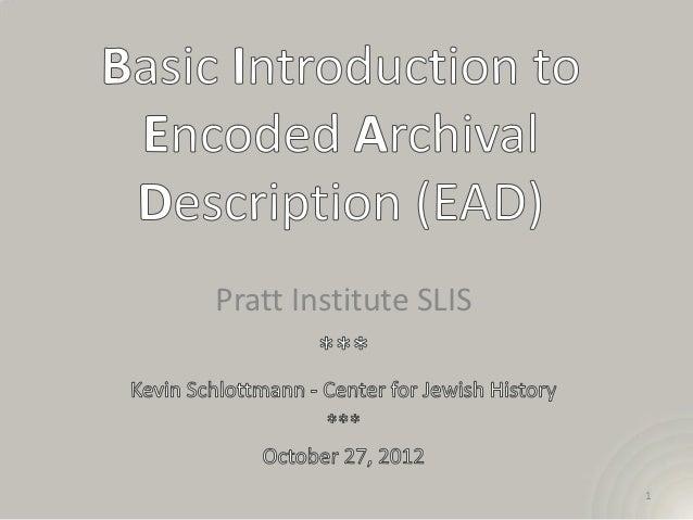Pratt EAD -