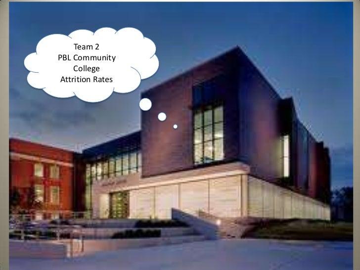 Team 2<br />PBL Community College<br />Attrition Rates<br />