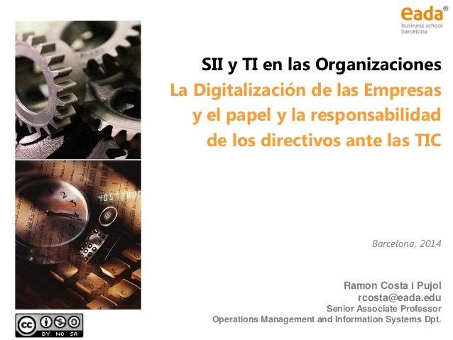Material SSII EADA Ramon Costa 2014