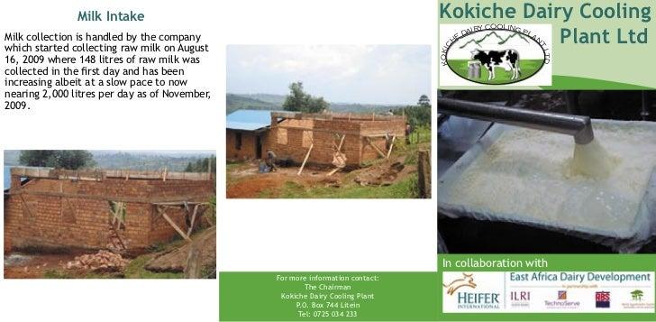 Eadd kenya kokiche dairy company ltd brochure