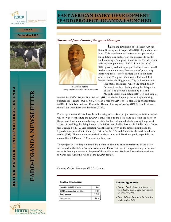 EAST AFRICAN DAIRY DEVELOPMENT                                                                         (EADD)PROJECT -UGAN...