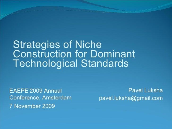Sponsorship of technological platforms as niche construction: Sun Java case