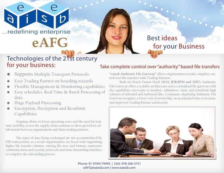 Authentic File Gateway (eAFG)