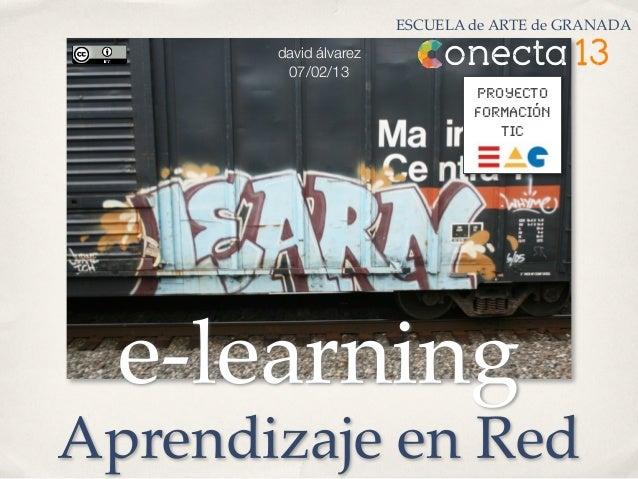e-Learning y Aprendizaje en Red