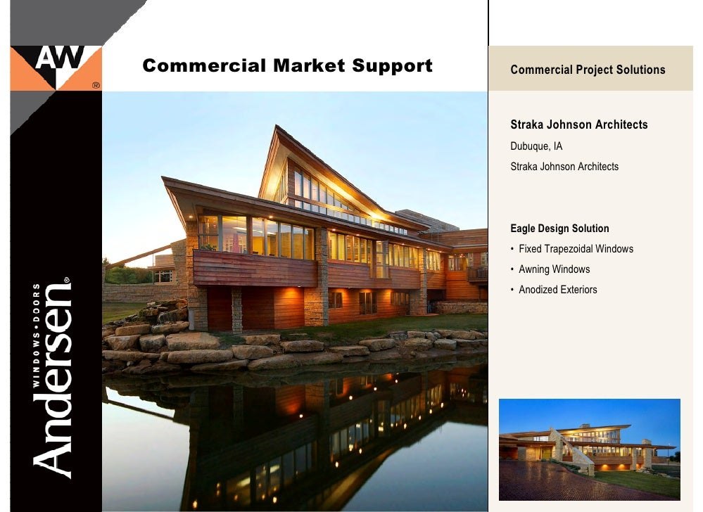 Andersen Eagle E-Series Commercial Market Projects