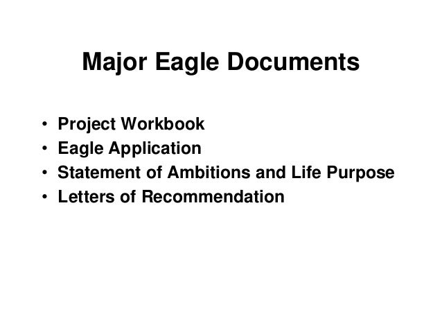 Eagle life purpose essay