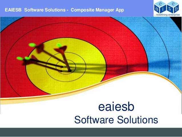 EAIESB Software Solutions - Composite Manager App                                      eaiesb                            S...