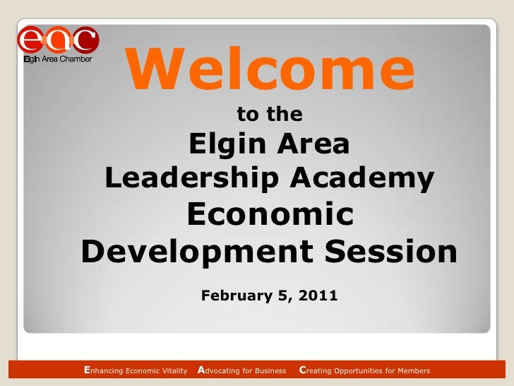 Elgin Area Chamber / Development Group