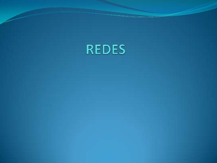 REDES<br />