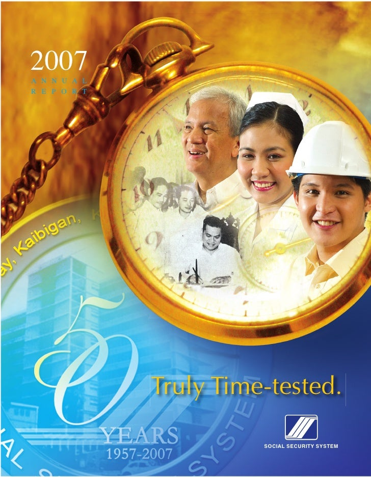 Philippine Social Security System 2007 Annual Report