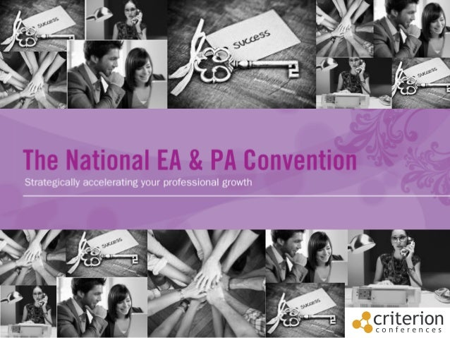 Contents •  One word to describe the conference  •  What is EAPA?  •  Testimonials from our past attendees and speakers  •...