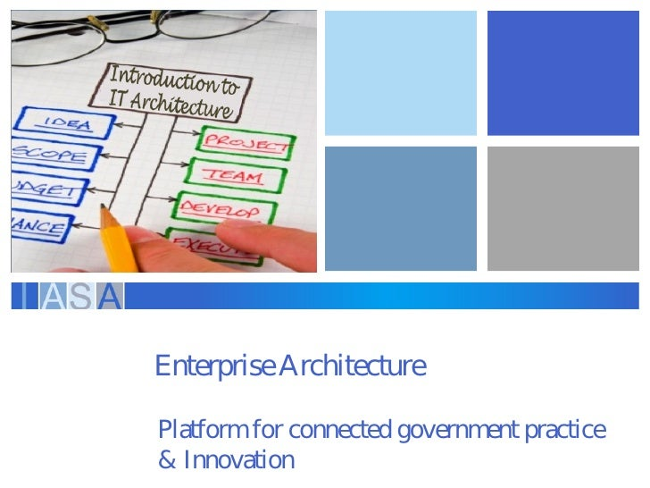 EnterpriseArchitecturePlatform for connected governm practice                              ent& Innovation