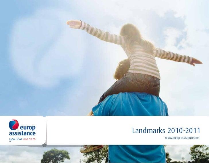 Landmarks 2010-2011             Repères              2010-2011         www.europ-assistance.com