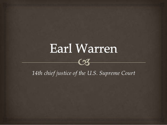 14th chief justice of the U.S. Supreme Court