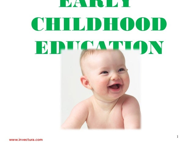 EARLY           CHILDHOOD           EDUCATION                       1www.invectura.com