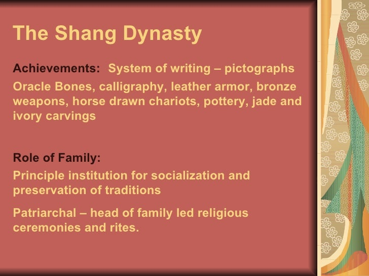 How Do the Zhou and Shang Dynasties Compare?