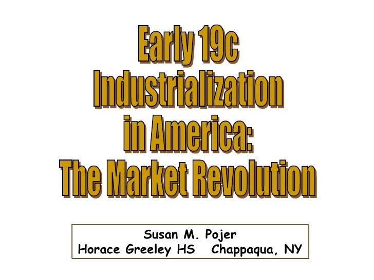 Early19c Industrialization In America