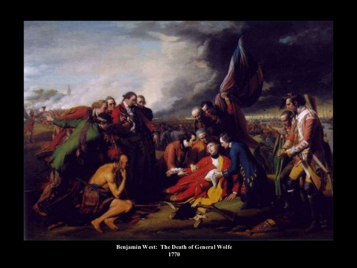 Benjamin West:  The Death of General Wolfe 1770