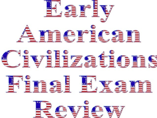 Early american civ internet review pp