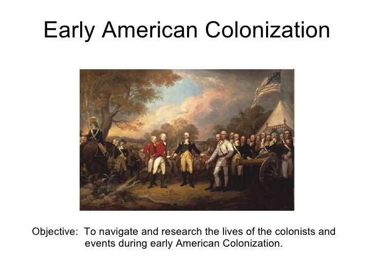 us history early colonization Video: the 13 colonies: life in early america ap us history: homework help black history in colonial america.