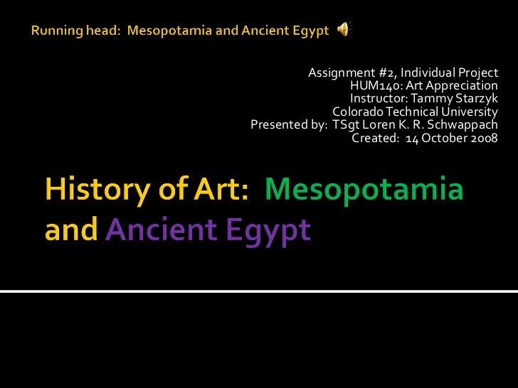 Early art history