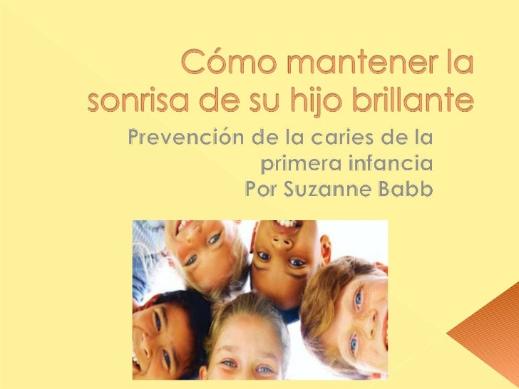 Early childhood cavaties spanish