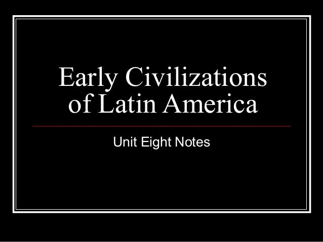 Early civilizations p pt